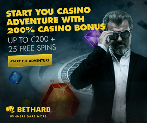 Bethard Casino | 700 free spins plus 150% up to €750 welcome bonus