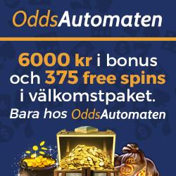 OddsAutomaten Casino - 125 free spins on video slots - no deposit bonus