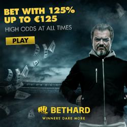 Bethard Casino 660 free spins and 750 euro free bonus